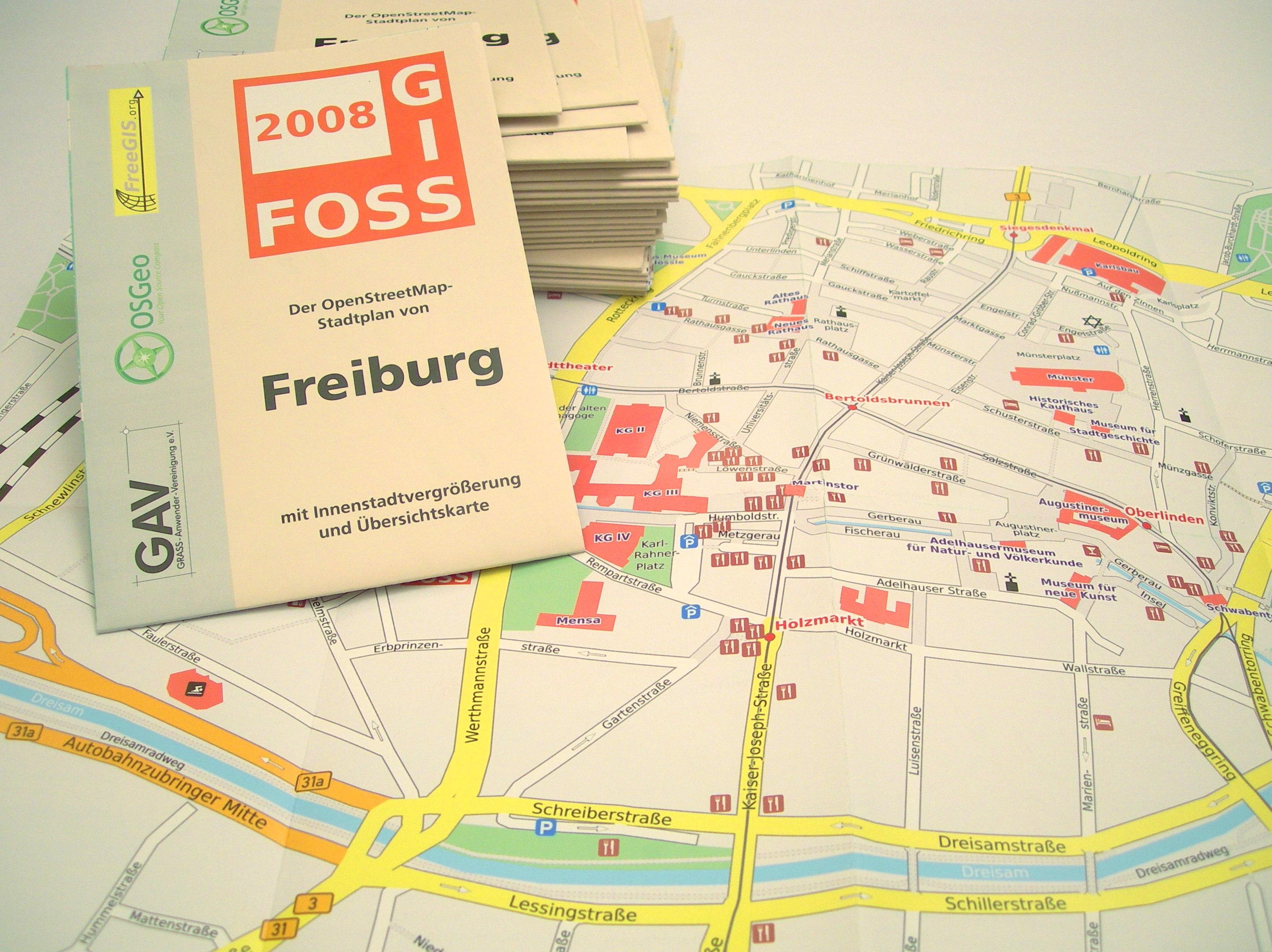 GEOFABRIK FreiburgKarte
